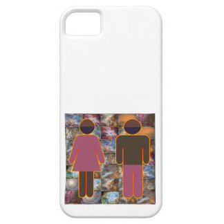 Beautiful Couple - Male Female Indicator iPhone 5 Cases