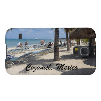 Beautiful Cozumel, Mexico beach scene Galaxy S5 Case