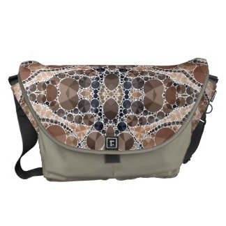 Beautiful Cream Bling Pattern Commuter Bags