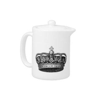 Beautiful Crown Tea Pot