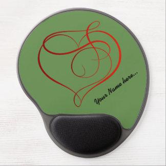 Beautiful custom Gel Mousepad with Your name