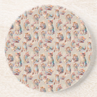 Beautiful cute Kittens Coaster