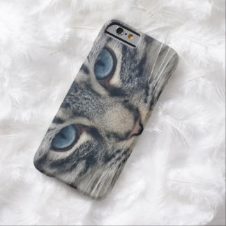Beautiful cute kitty cat kitten animal lover barely there iPhone 6 case