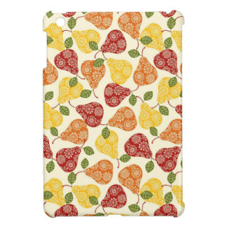 Beautiful Cute pears in autumn colors Case For The iPad Mini