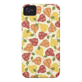 Beautiful Cute pears in autumn colors iPhone 4 Case