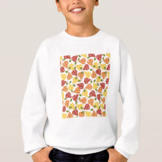 Beautiful Cute pears in autumn colors Sweatshirt