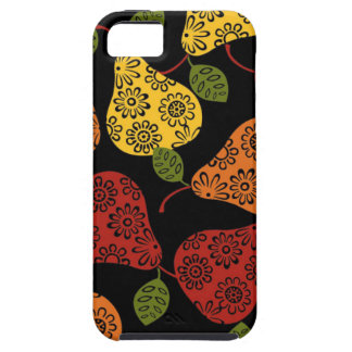 Beautiful Cute pears, yellow,  orange, maroon iPhone 5 Covers