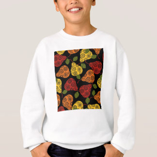 Beautiful Cute pears, yellow,  orange, maroon Sweatshirt