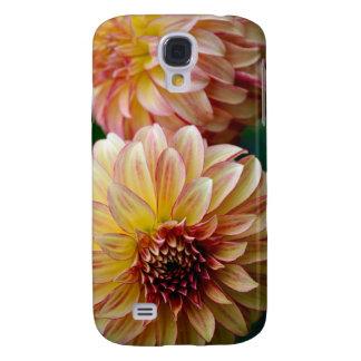 Beautiful dahlia flower print