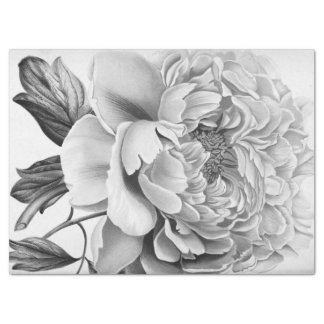 Beautiful Dahlia Flower Tissue Paper