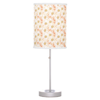 Beautiful Daisy Pattern Table Lamp
