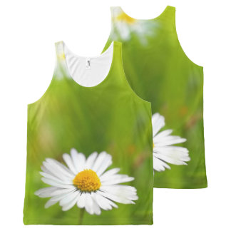 Beautiful daisy, print all over All-Over-Print tank top