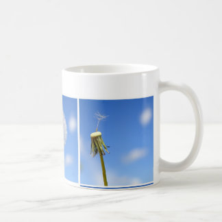 Beautiful dandelion coffee mug