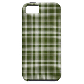 Beautiful, Dark Green and White iPhone 5 Cover