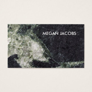 Beautiful Dark Marble Abstract Background Business Card