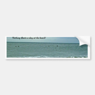 Beautiful Day Along The Beach Bumper Sticker