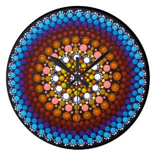 Beautiful Day Mandala Clock