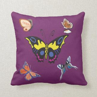 Beautiful Decorative Butterflies American  Pillows