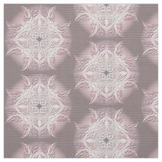 Beautiful  decorative element of leaves fabric