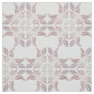 Beautiful  decorative element of leaves fabric