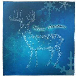 Beautiful deer cloth napkins