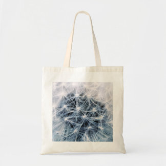 beautiful delicate dandelion flower photograph tote bag