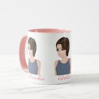 Beautiful delicate e mug