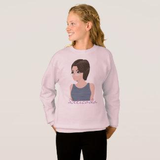 Beautiful delicate e sweatshirt