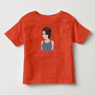 Beautiful delicate e toddler t-shirt