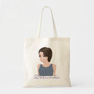 Beautiful delicate e tote bag