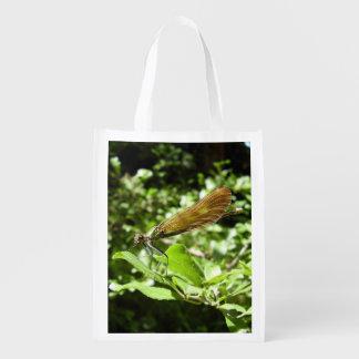 Beautiful Demoiselle Reusable Bag