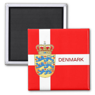 Beautiful Denmark Magnet! Magnet