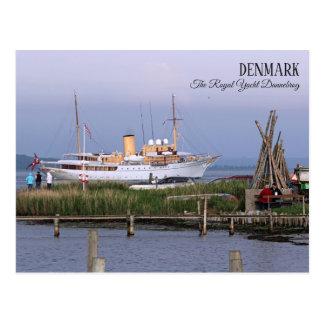 Beautiful Denmark, The Royal Yacht Postcard! Postcard