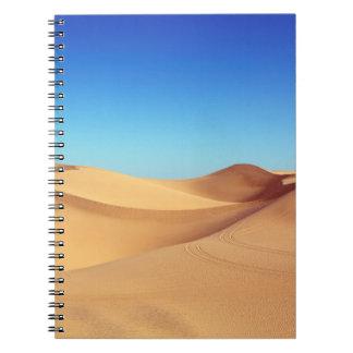 beautiful desert notebook