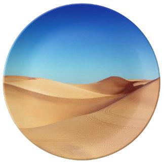 beautiful desert plate