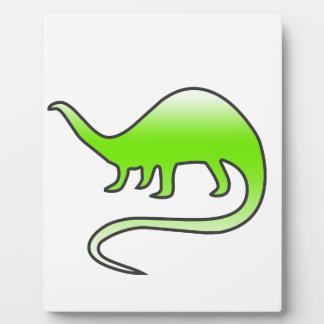 beautiful dinosaur plaque
