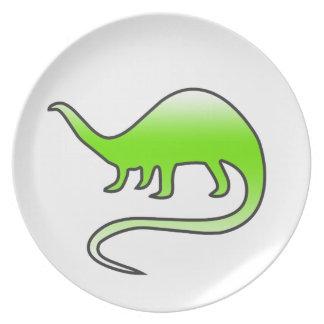 beautiful dinosaur plate