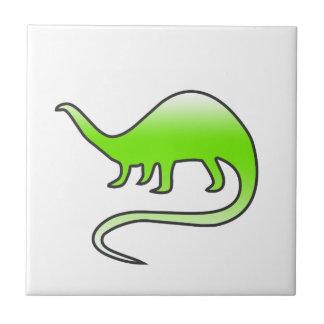 beautiful dinosaur tile