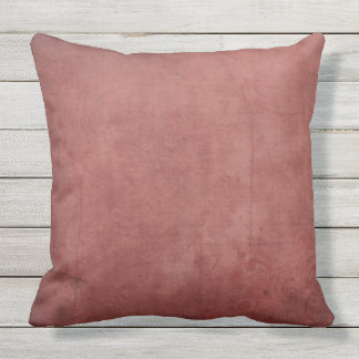 BEAUTIFUL DISTRESSED WINE WASH Throw Cushion