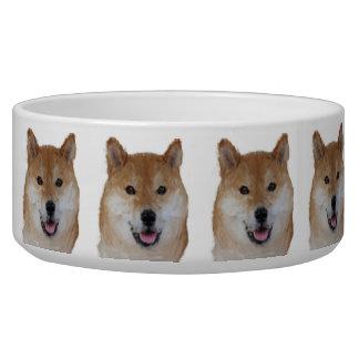 Beautiful Dog Bowl - Shiba Inu