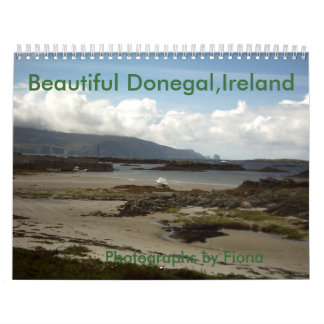 Beautiful Donegal,Ireland,Calendar Calendar