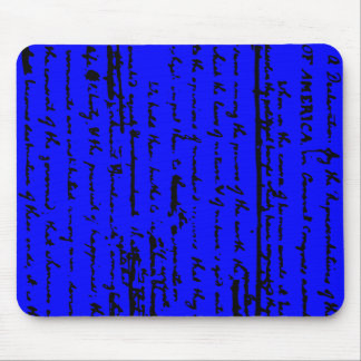 Beautiful draft script by Thos. Jefferson 1776 Mouse Pad