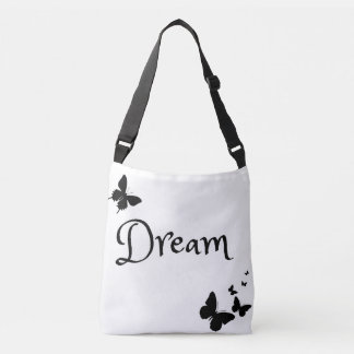 Beautiful Dream Butterfly Cross Body Purse Crossbody Bag