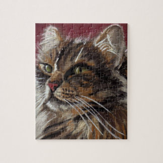 Beautiful Dreamer Maine Coon Cat Puzzle