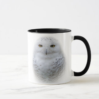 Beautiful, Dreamy and Serene Snowy Owl Mug
