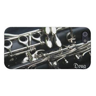 Beautiful Dual Clarinets iPhone 5 Case