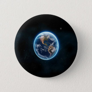 Beautiful Earth 2 Inch Round Button