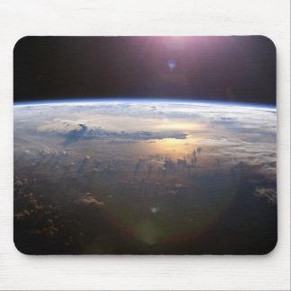 Beautiful Earth Yuri Gagarin Mouse Pad