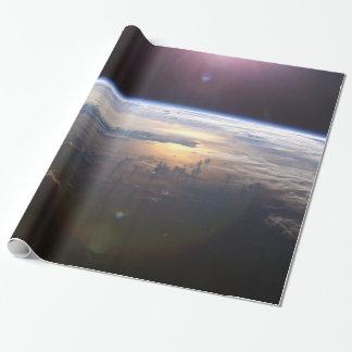 Beautiful Earth Yuri Gagarin Wrapping Paper