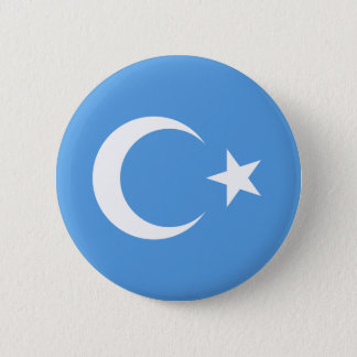Beautiful East Turkestan Xinjiang Flag 2 Inch Round Button